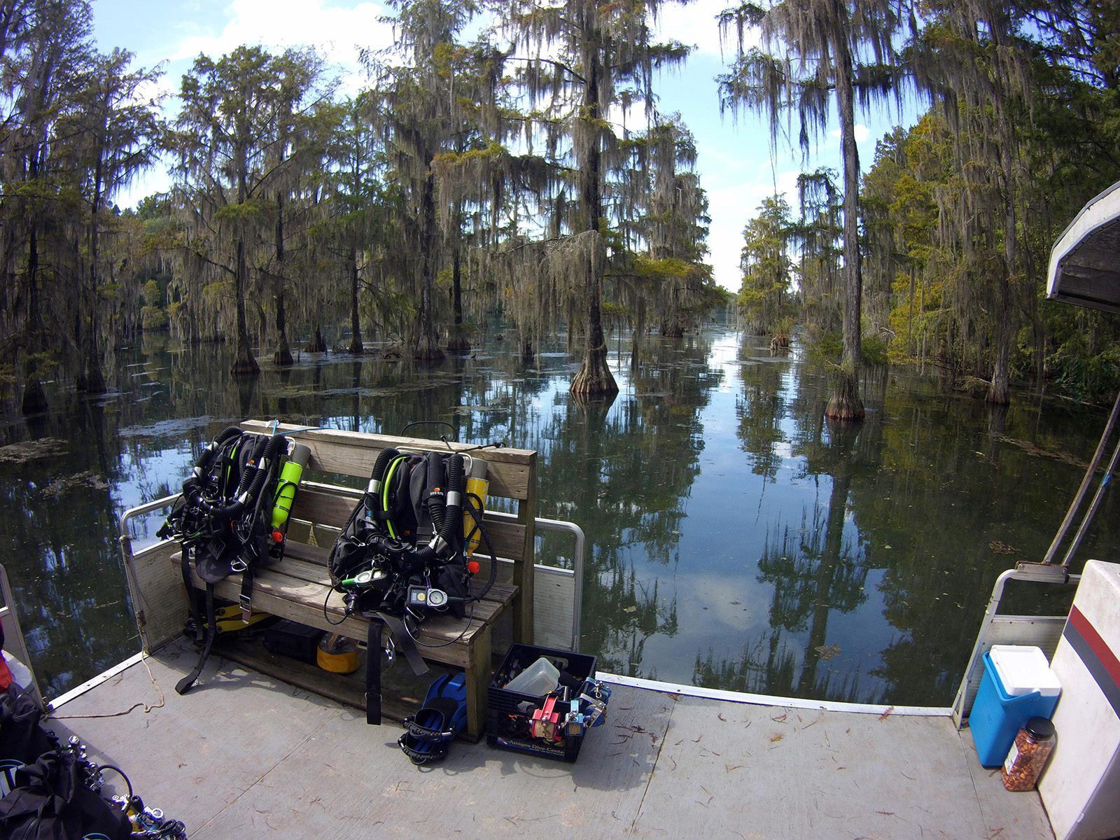 Rebreather Diver (Photo Credit - Scott Sanders)