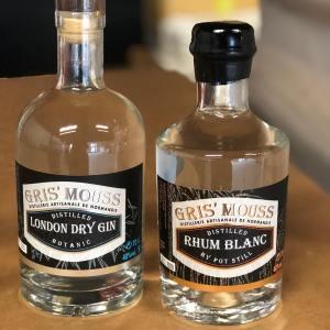 pack gin rhum brasserie gris'mouss en normandie, vente de spiritueux et de bière