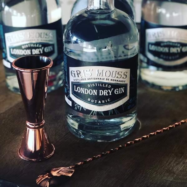 gin brasserie gris'mouss en normandie, vente de spiritueux et de bière