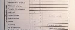 Fiche d'évaluation entretien de positionnement suite au SPI à la CMA