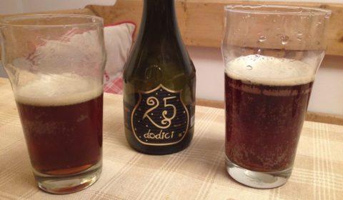 25 Dodici, une bière brune italienne (Birra del Borgo) à partager à Noël - Dégustation BeeryChristmas