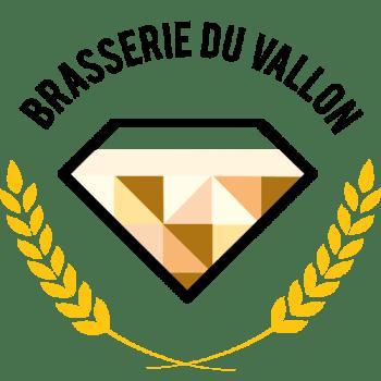 Le logo de la Brasserie du Vallon, gracieusement designé par ma chère et tendre, étudiante graphiste