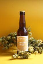 Douceur dorée - photo étiquette de bière - Brasserie du Vallon - micro-brasserie artisanale d'Alsace