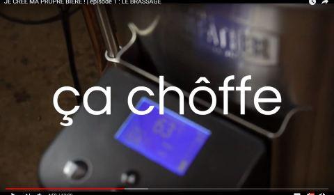 Ça Chauffe - Brassage de bière artisanale au thé noir et thé vert Brasserie du vallon