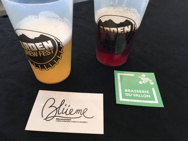 Brasserie Blüeme et Brasserie du Vallon aux Arden Brew Fest 2018
