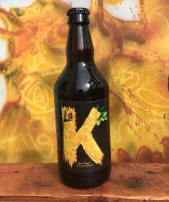 Bouteille bière artisanale La K