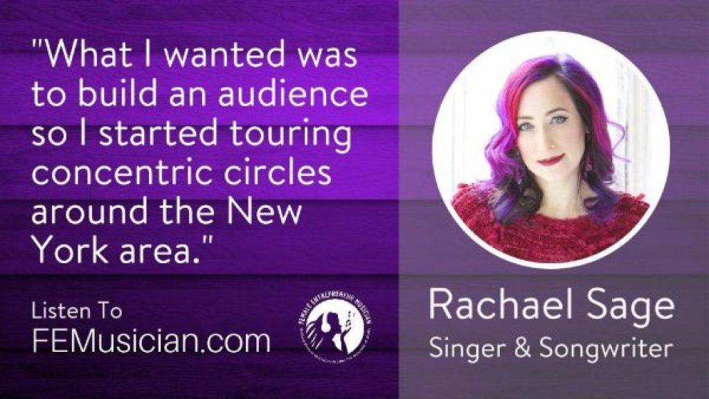 Image of Rachel Sage at FEMusician.com