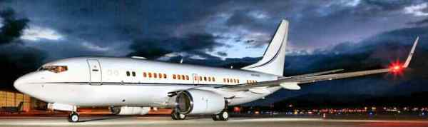 Boeing 737 BBJ VIP YOM 2001