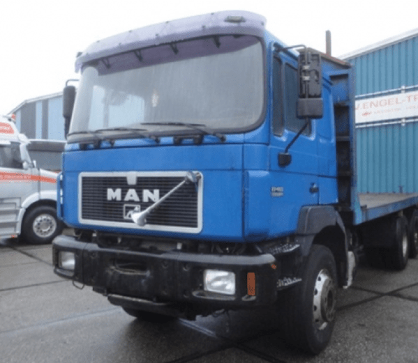 MAN 27.463DFK 6X4 FULL STEEL CHASSIS (EURO 2 / MANUAL GEARBOX / REDUCTIONS AXLES / FULL STEEL SUSPENSION)