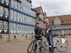 E-Bikes im Braunschweiger Land auf dem Stadtmarkt Wolfenbüttel