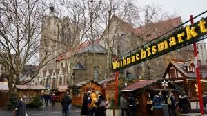 Der Braunschweiger Weihnachtsmarkt ist rund um den Dom herum aufgebaut. Foto: Beate Ziehres