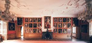 Blick in den Rittersaal in Lucklum – Foto: Güterverwaltung Reinau