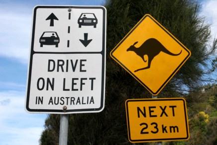 10 Coisas que você precisa saber antes de Dirigir na Austrália