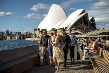 Confira os bastidores da nova novela da Globo gravada na Austrália!