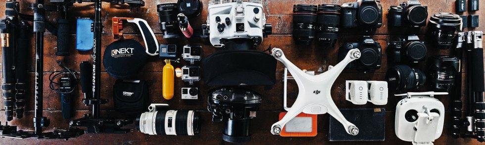 Como comprar equipamento fotográfico no exterior