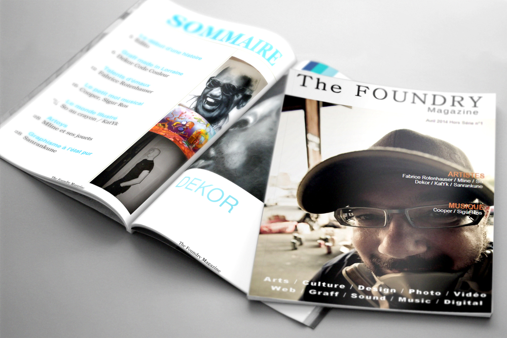 Couverture Magazine Foundry