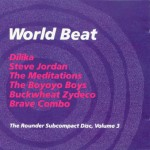 World Beat-The Rounder Subcompact disc, Vol. 3 Rounder CDS3 (3 inch CD) 1988 El Cumbanchero