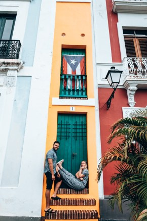casa estrecha, San Juan vacation