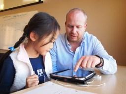 iPad teacher