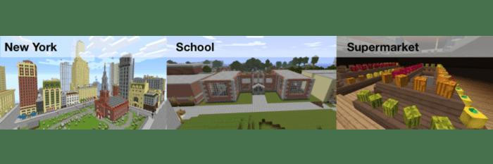 Minecraft towns