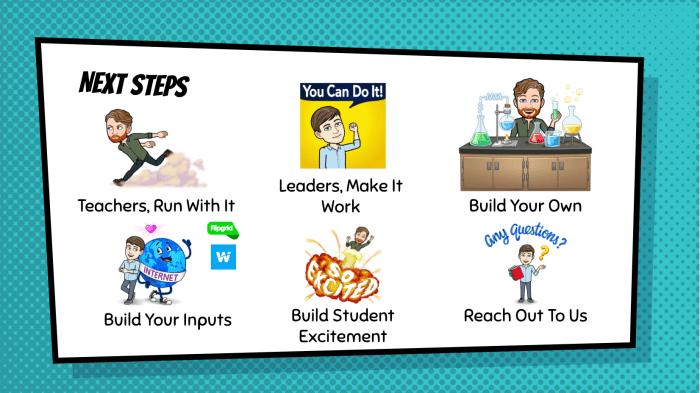 Next Steps slide (info in text)