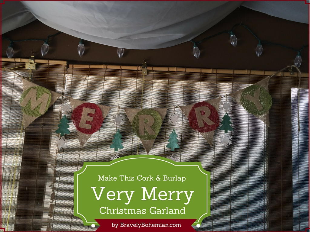 DIY Christmas Banner_Cork_and_burlap