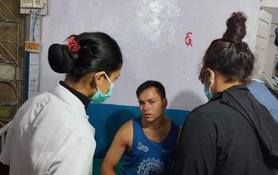 Khemraj Awasthi at Hospital