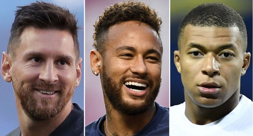 Messi, Neymar and Mbappe