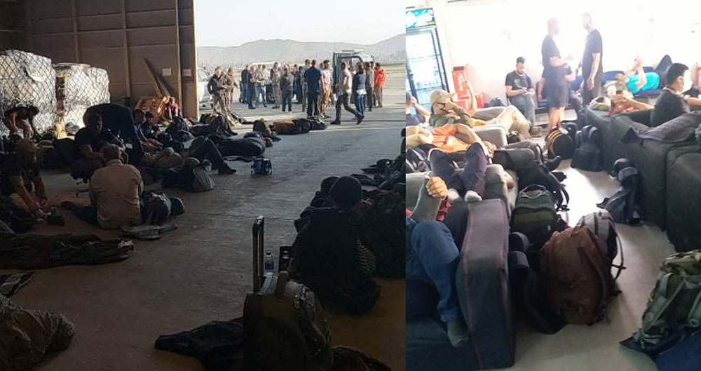 Nepalis in Afghanistan rescued and taken to Dubai