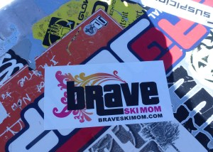braveskimom sticker mammoth