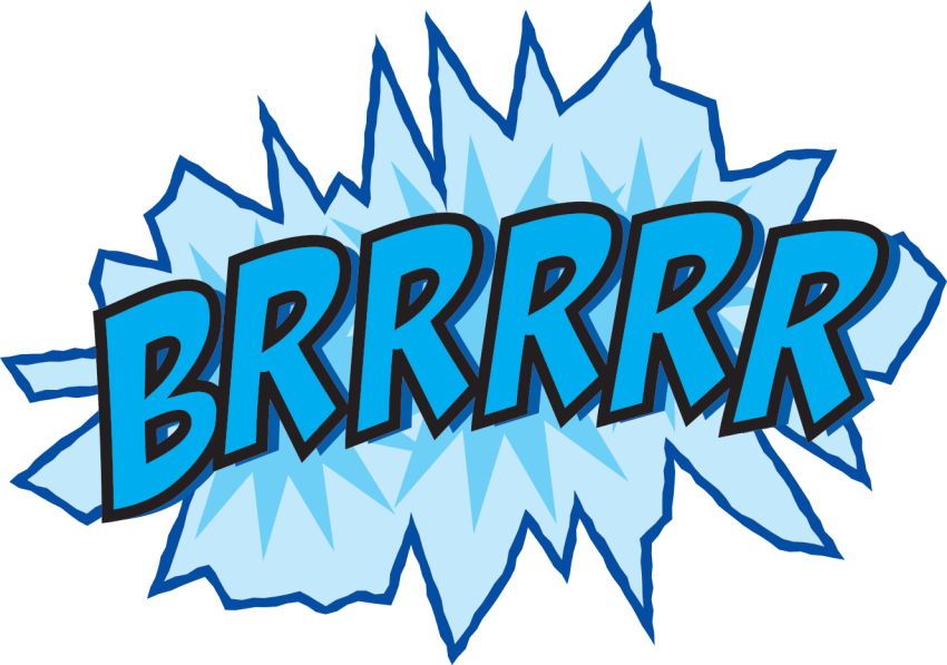 brrrr clip art