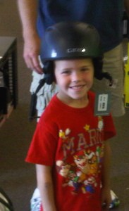 ski n see childrens ski helmet