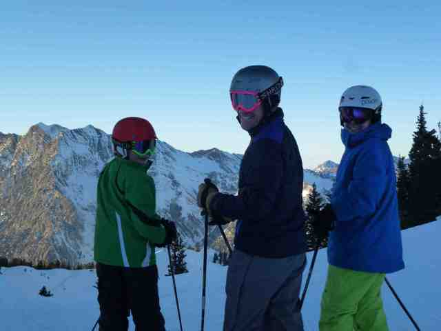 alta family skiing