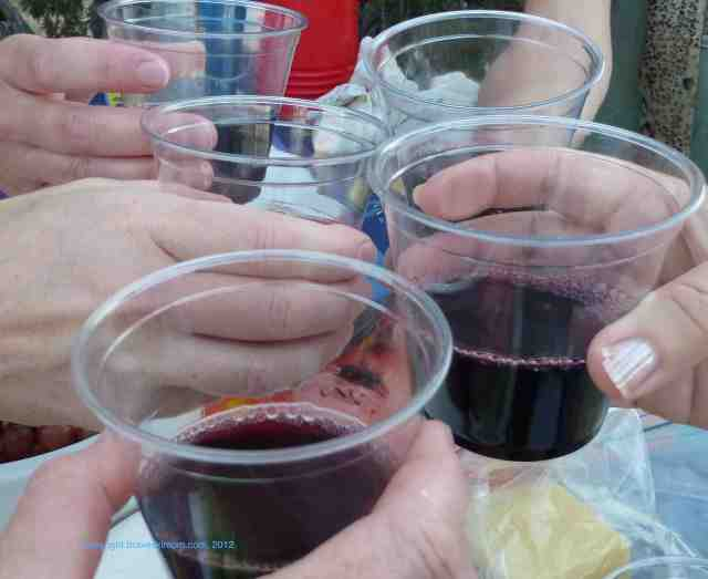 calnaturale wine for picnics camping