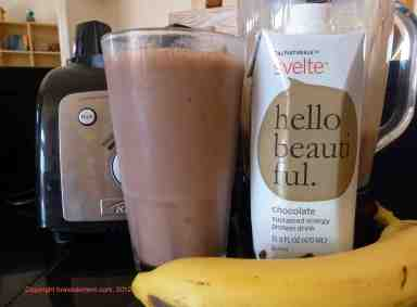 chocolate calnaturale svelte smoothie