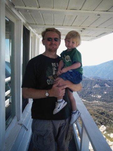 rob and kieran bigness hikes with tykes