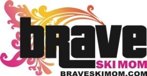 brave ski mom logo