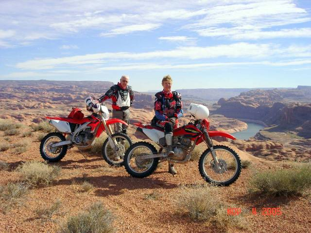 motorcycles on the mormon trail