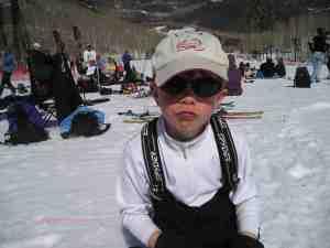 ski day child