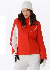 Spyder Prevail Jacket Volcano and White