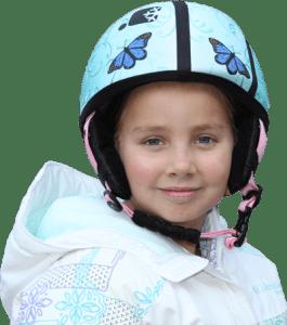 skbella helmet cover butterflies