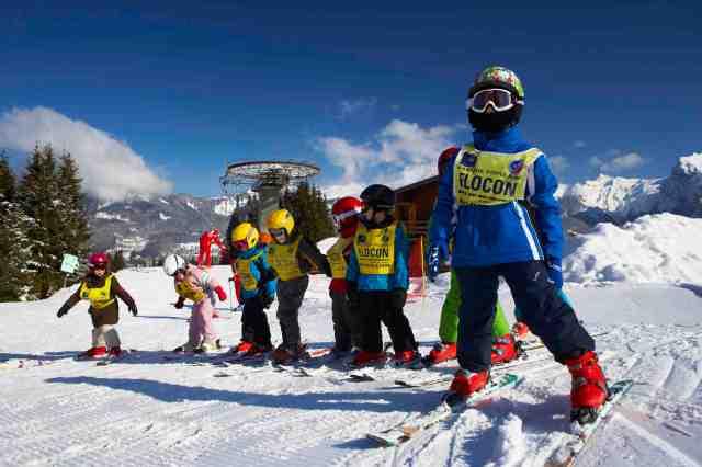 Morillon ski school france