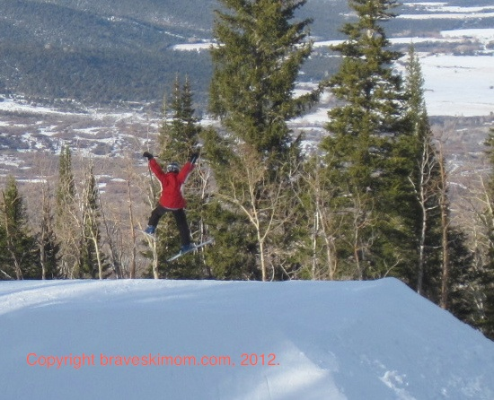 flying high at powderhorn