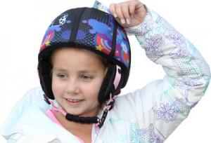 skbella neoprene helmet glove with ticket pocket