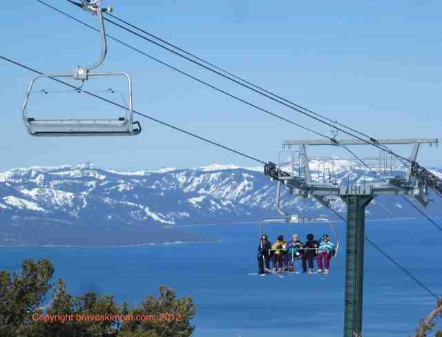 heavenly tahoe view