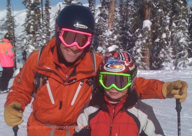 ski sticker helmet