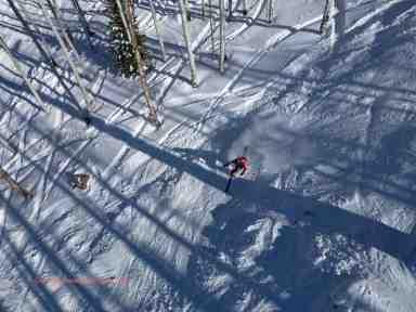 telemark skier powderhorn mountain resort