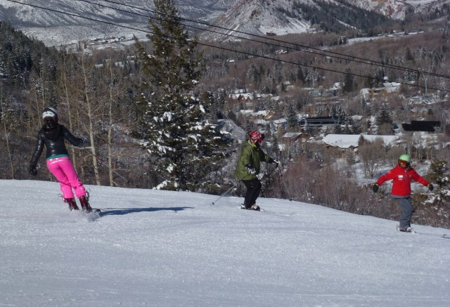 clendenin ski method aspen colorado