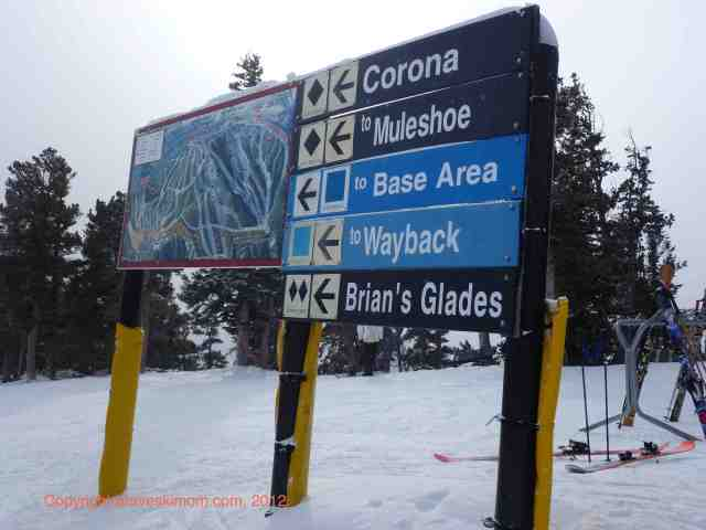 eldora colorado ski trail map