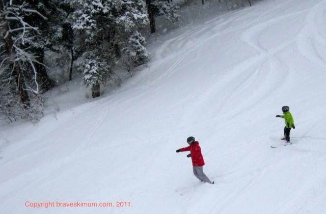 snowy buttermilk colorado